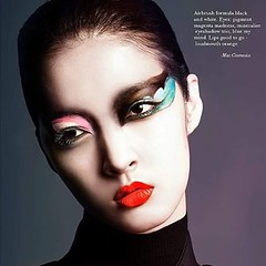 Artistsmakeup.com celebrates makeup artististry with the work of Sylwia Rakowska, photographed by Kevin Sinclair with model So Young Kang for Vestal Magazine #sylwiarakowska #kevinsinclair #soyoungkang #vestal #vestalmagazine #makeupartist #editorial #bea