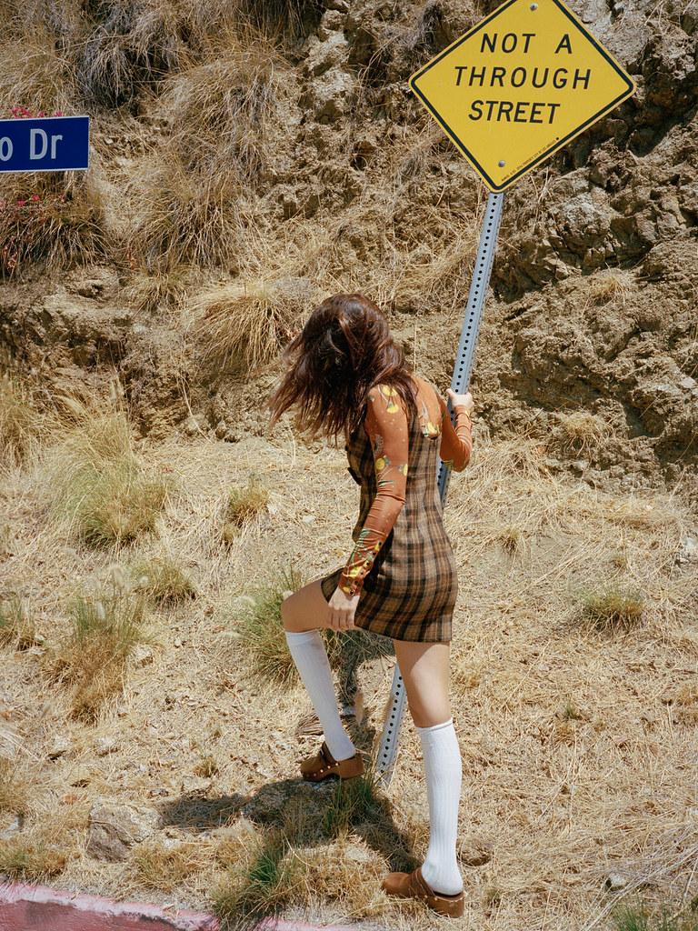 Белла Хадид — Фотосессия для «Wonderland» 2015 – 1