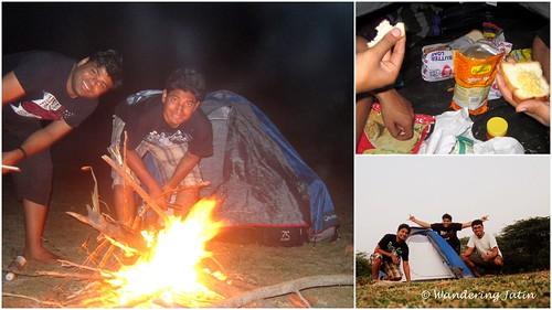 Camping at Gandikota