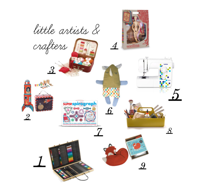 gift guide 2015 - arts & crafts by Paul & Paula