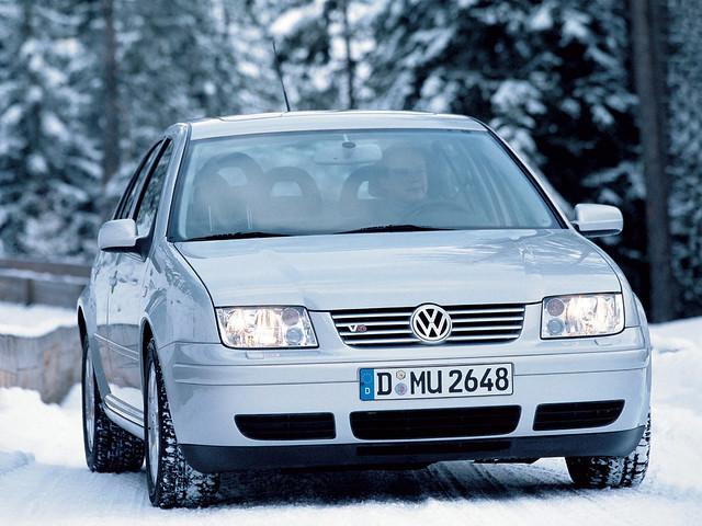 Седан Volkswagen Bora. 1998 – 2005 годы