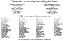 A huge thank you to our EID Teams, Sponsors, Donors & Supporters!
