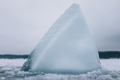 Winter freedive under the ice )