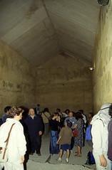 Ägypten 1999 (646) Kairo: In der Chephren-Pyramide, Gizeh