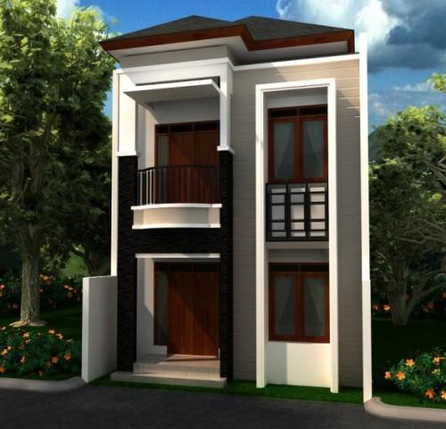 Rumah Minimalis Lahan Sempit 2 Lantai | Inspirasi Rumah
