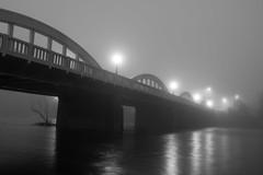 Bridge Street Bridge in the Fog