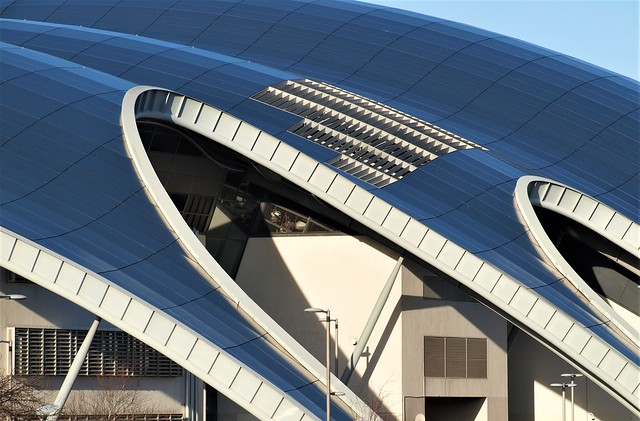 The Sage Concert Hall - Roof Detail - Gateshead