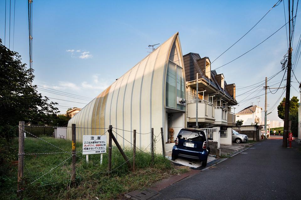 住宅密度大於高度,東京建築「怪宅」林立5