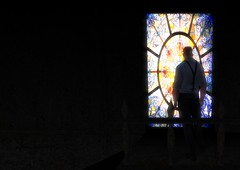 The stained glass window of imagination