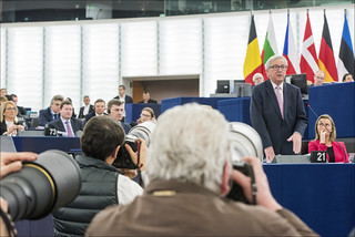 Summit conclusions and future of the EU headline Wednesday's plenary debates