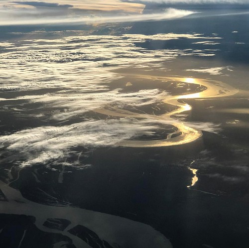 #businesstripbeauty #fromabove #amazonas #abovetheclouds #latam #latamgram #fonteboa #sunset #amazonriver #whoa #reflectiononwater #brasil #brazil #frommywindow #fromaplane #clouds #nofilter #motherearth