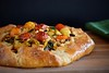 burst tomato galette with corn and zucchini by Husbands That Cook