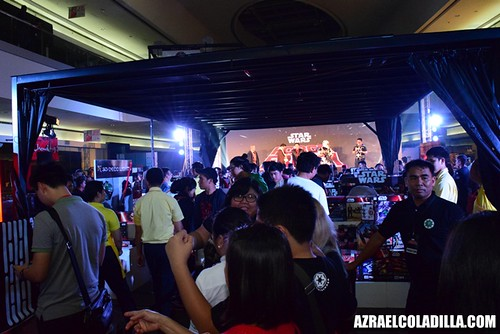 Star Wars Force Friday - toy launch in SM MOA