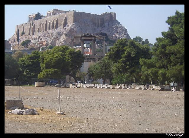 Grecia visita Atenas - Acrópolis de Atenas  y Arco de Adriano