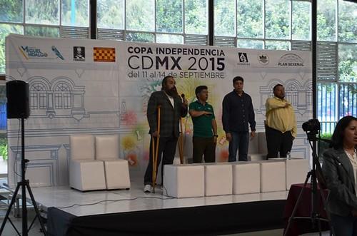 Copa Independencia 2015 - Inauguración