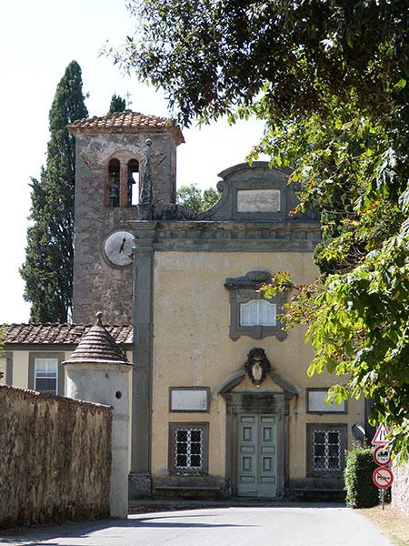 chapelle villa torrigiani