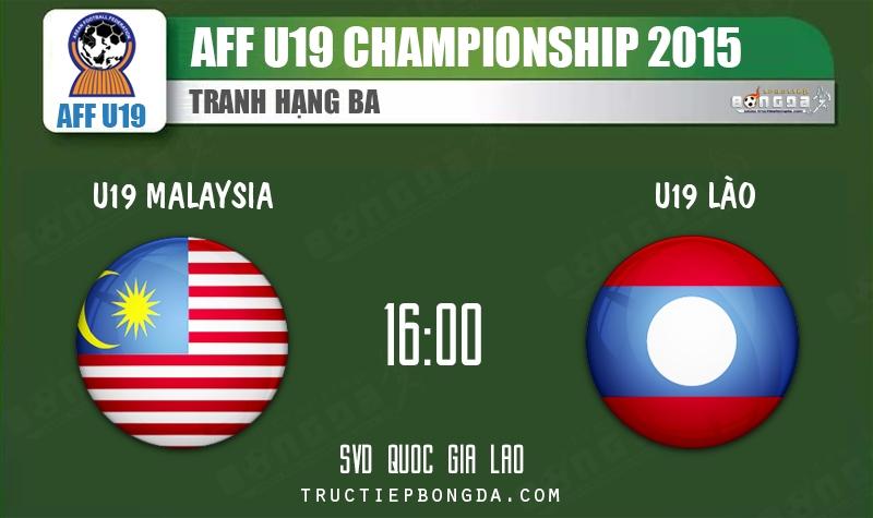 U19 Malaysia vs U19 Lào