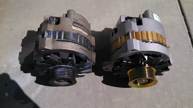 Old and New Alternators