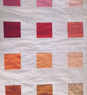 For everyone who asks how long it takes to make a quilt...(everyone)...I was able to stitch eleven of these blocks while watching M:I-3 tonight. There are 100 blocks on the quilt. #dothemath #thisiswhyidont