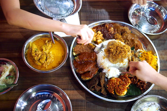 nasi ambeng, Ambeng Cafe by Ummi Abdullah, 430 Upper Changi Road, East Village