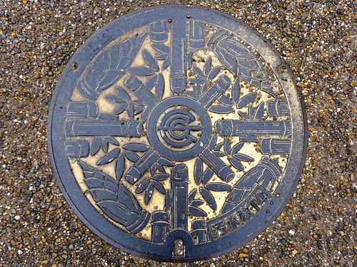 Nagaokakyo kyoto, manhole cover (京都府長岡京市のマンホール)