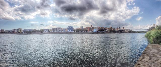 Lo riu, lo pont, #amposta #surtdecasaebre #viulebre #ebreactiu #ebrebiosfera