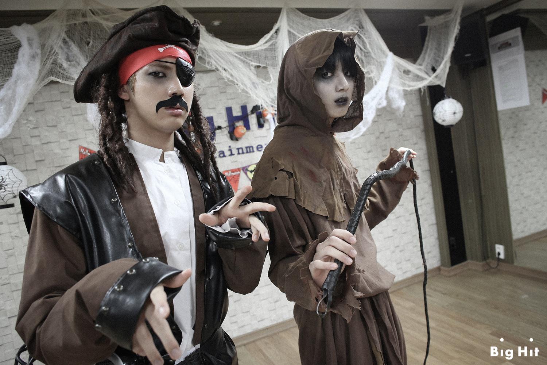 Picture/FB] Starcast Bangtan Room / Halloween Chapter [141103] |