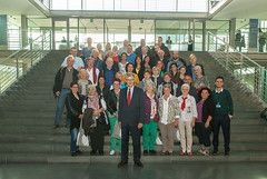 Besuchergruppe im Paul-Löbe-Haus am 30. September 2015