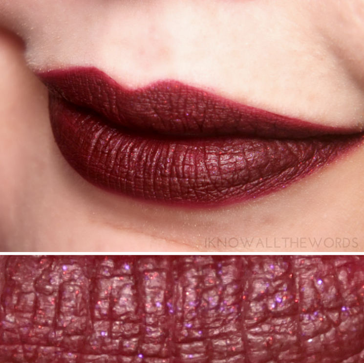 LA Splash Studio Shine Lip Lustre Evil Queen Medusa
