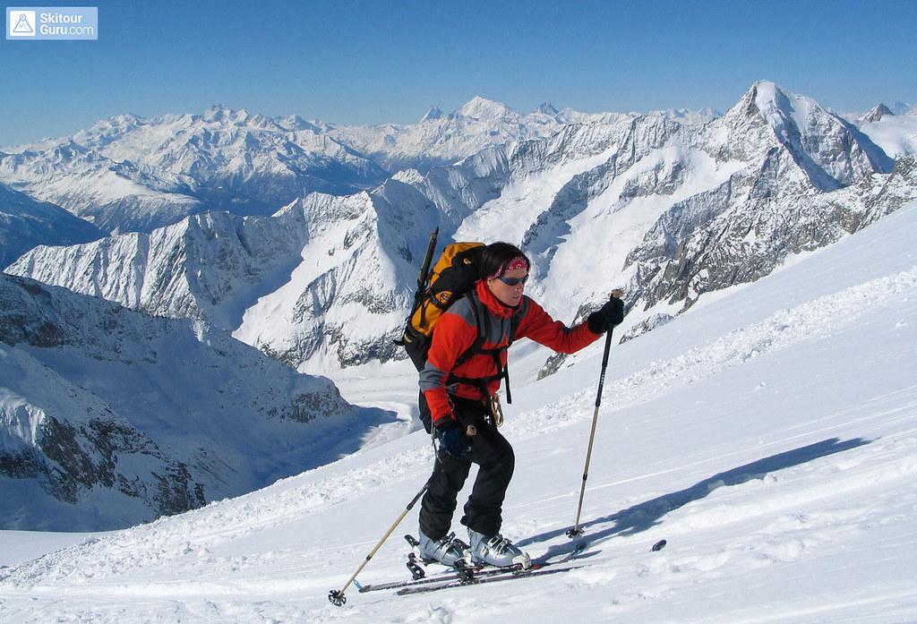 Grosser Aletschhorn Berner Alpen / Alpes bernoises Schweiz foto 05
