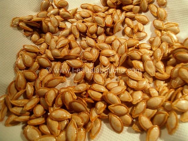 Graines de Courges Grillées  © Ana Luthi Tous droits réservés 002