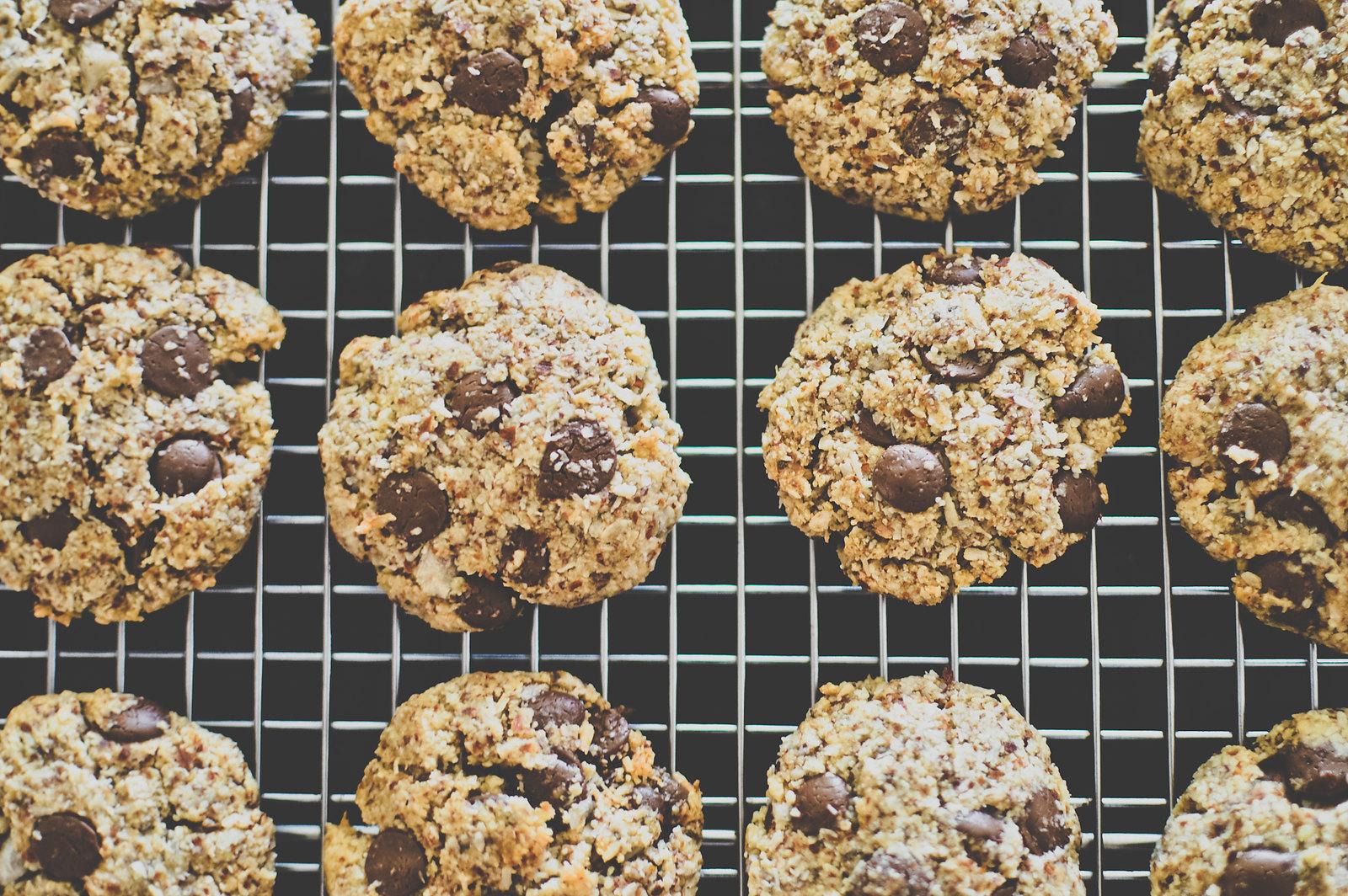 Vegan Almond Coconut Cookies