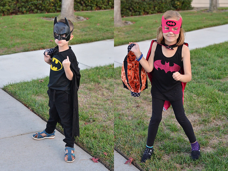 batman and batgirl costumes