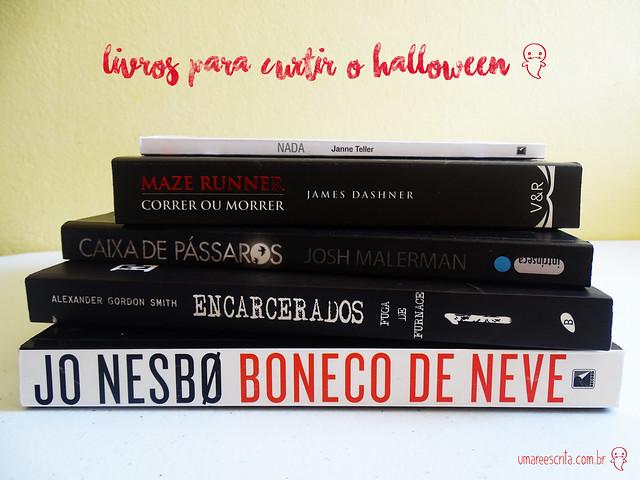 livros para curtir o halloween <3