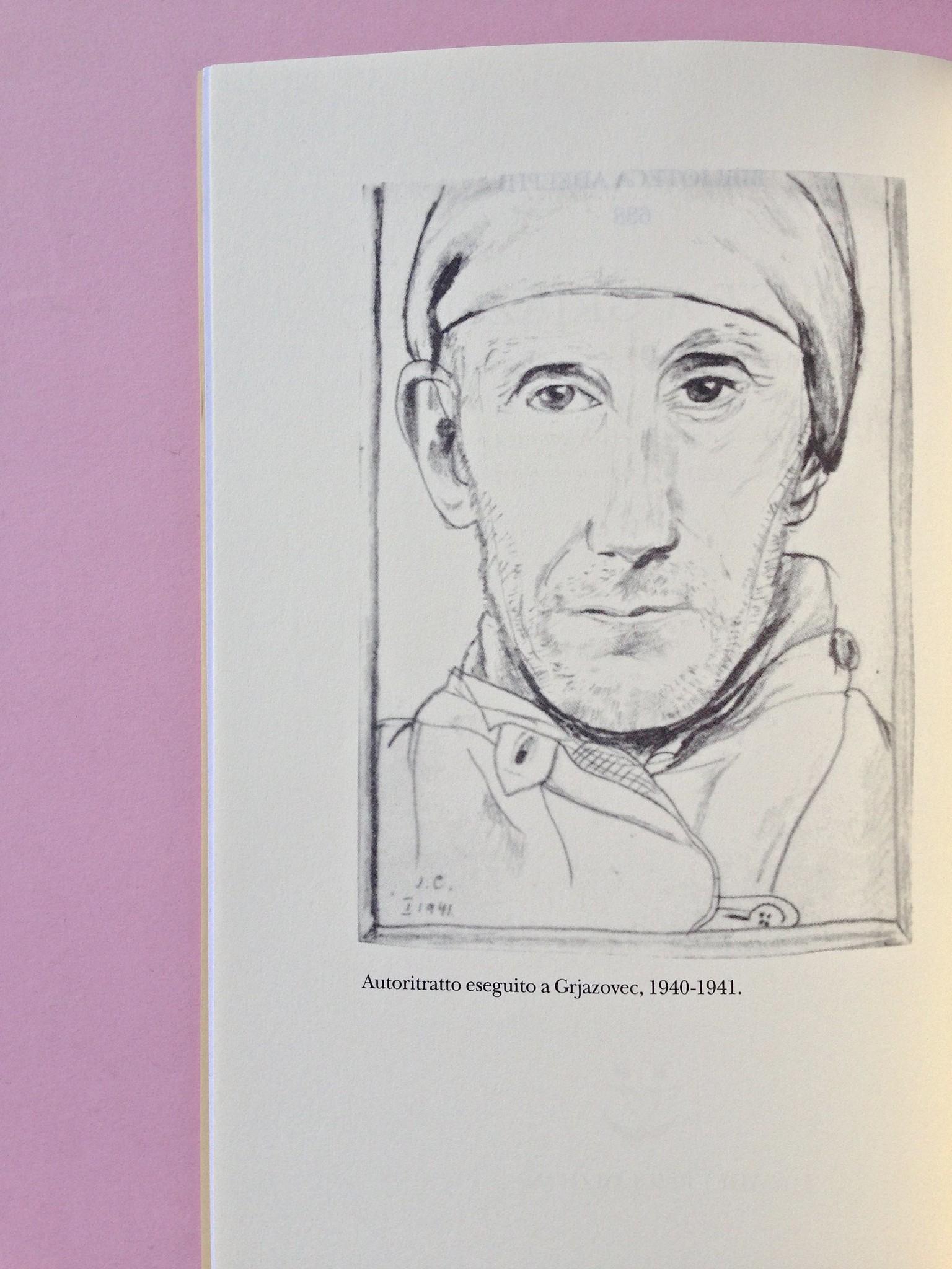 Proust a Grjazovec, di Józef Czapski. Adelphi 2015. Resp. grafica non indicata. Verso della pagina dell'occhiello, a pag. 4 (part.), 1
