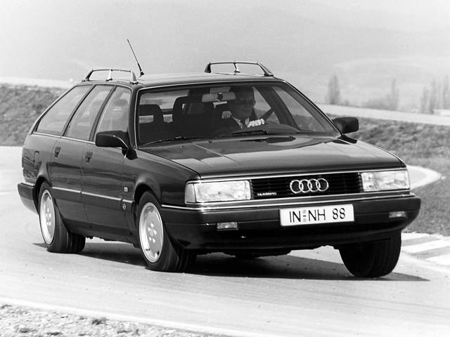 Полноприводная Audi 200 Avant quattro. 1988 – 1991 годы