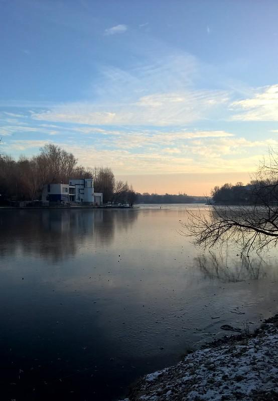 пруд и лодочная станция | ХорошоГромко.ру