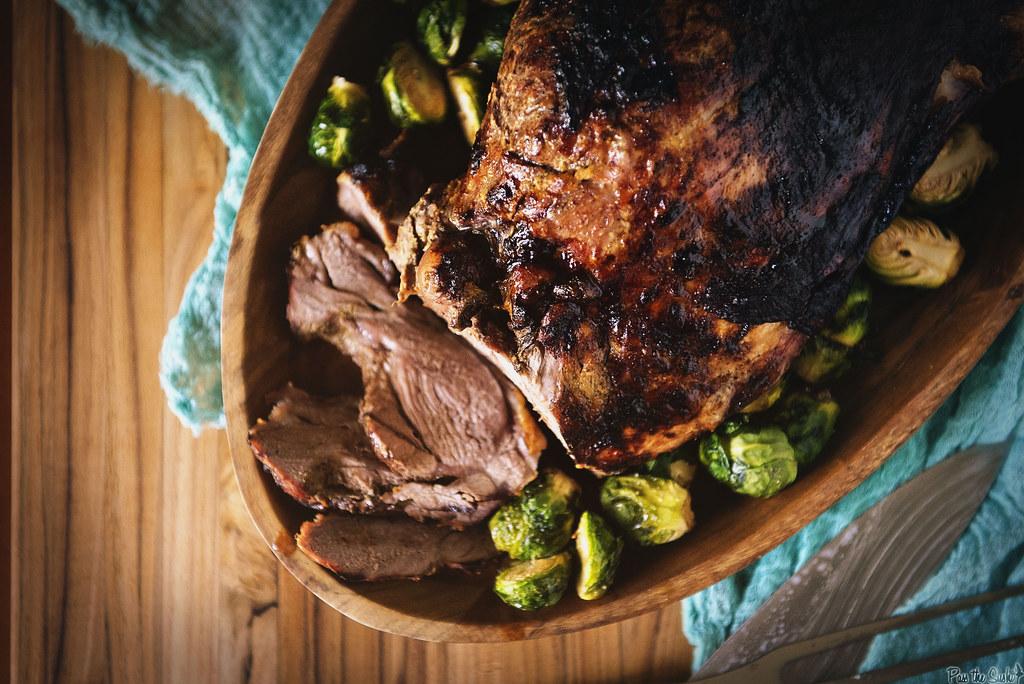Fried Honey Dijon Leg of Lamb Recipe & Tips for using your Big Easy ...