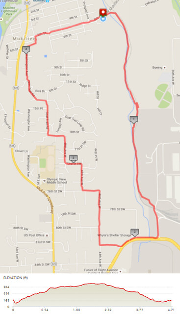 "Yesterday""s awesome walk, 4.71 miles in 1:32, 10,121 steps, 596ft gain"