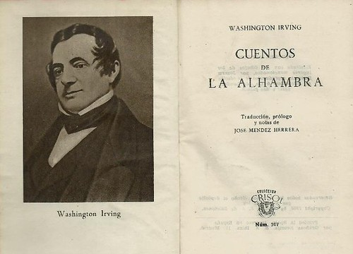 Washington Irving - Cuentos de la Alhambra