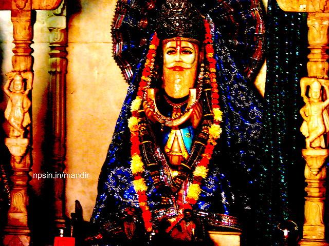 Temple Celebrating Cheti Chand /Jhulelal Jayanti In Delhi