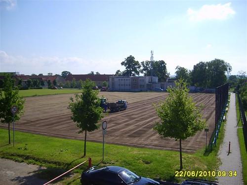 2010 - Úprava fotbalového hřiště