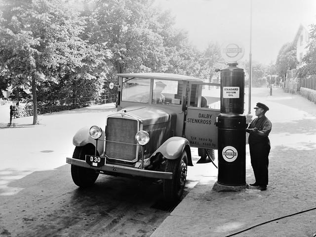 Грузовик Scania-Vabis 324. 1932 год