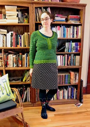 polka dot skirt (3)