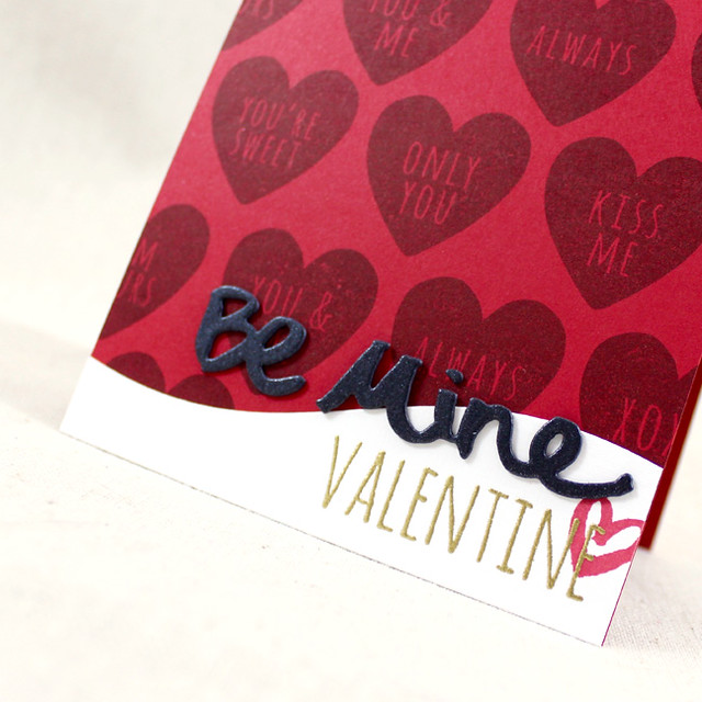 Be Mine Valentine Close Up