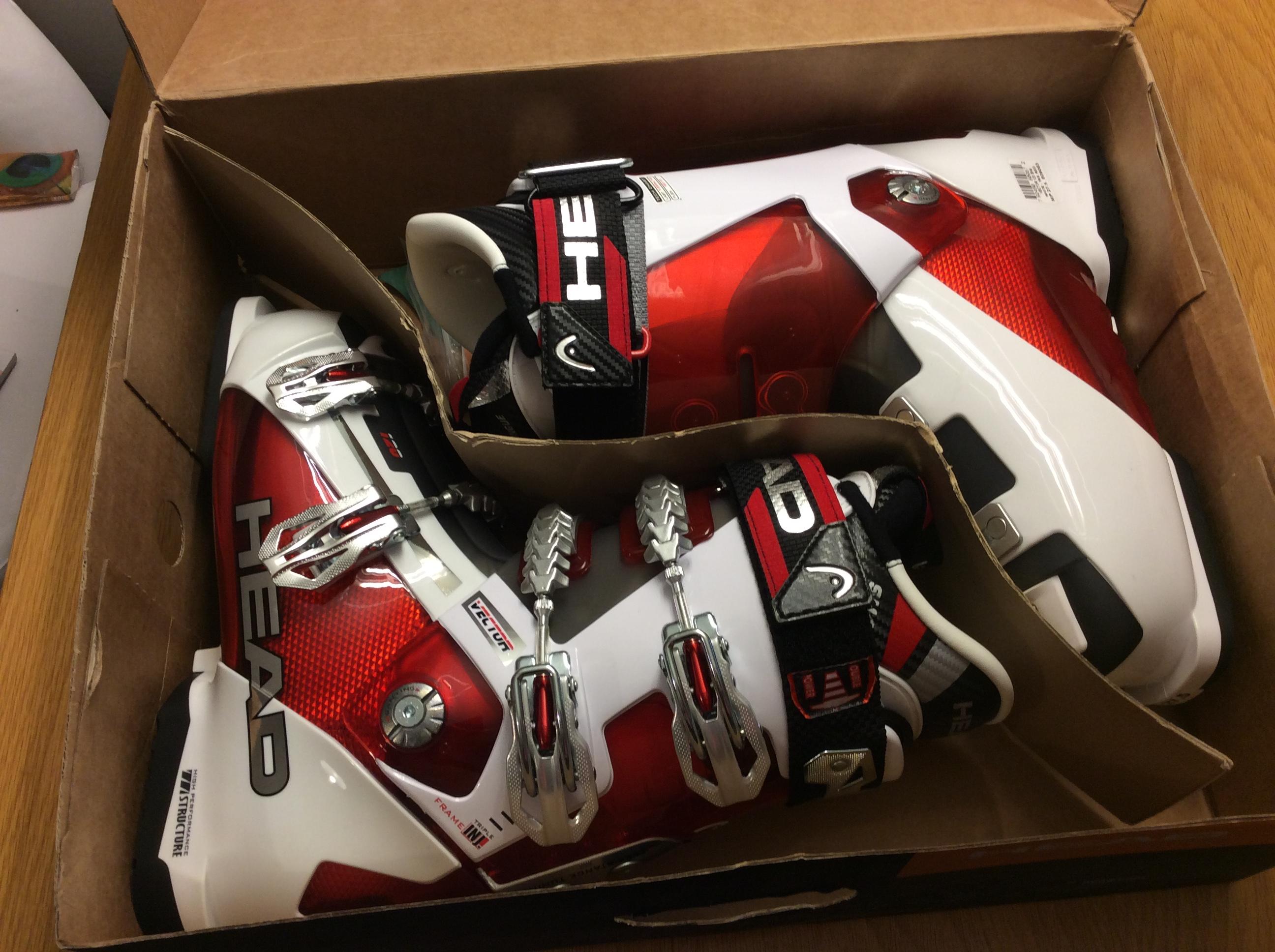 Lyžařské boty Head Vector 120 SH4 nové vel. 27 c2ba3e6efa