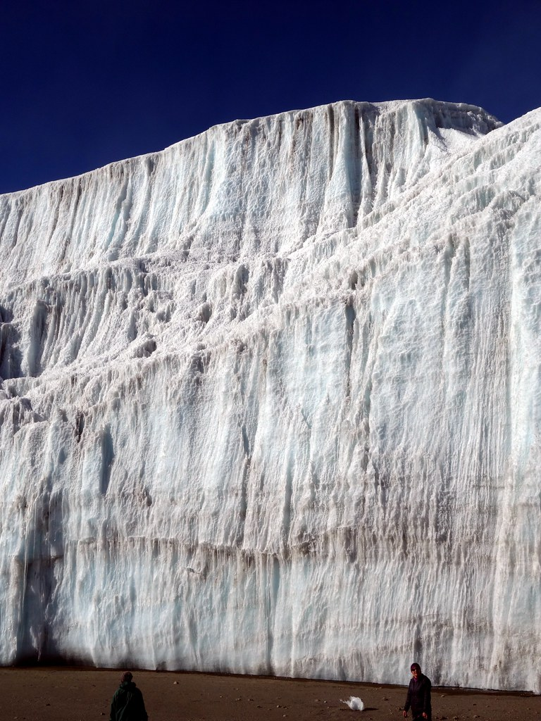 Looking up at the Northern Icefield