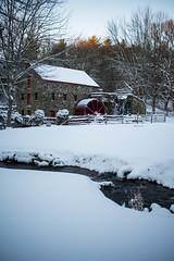 The Wayside Inn Grist Mill, Sudbury, Mass.