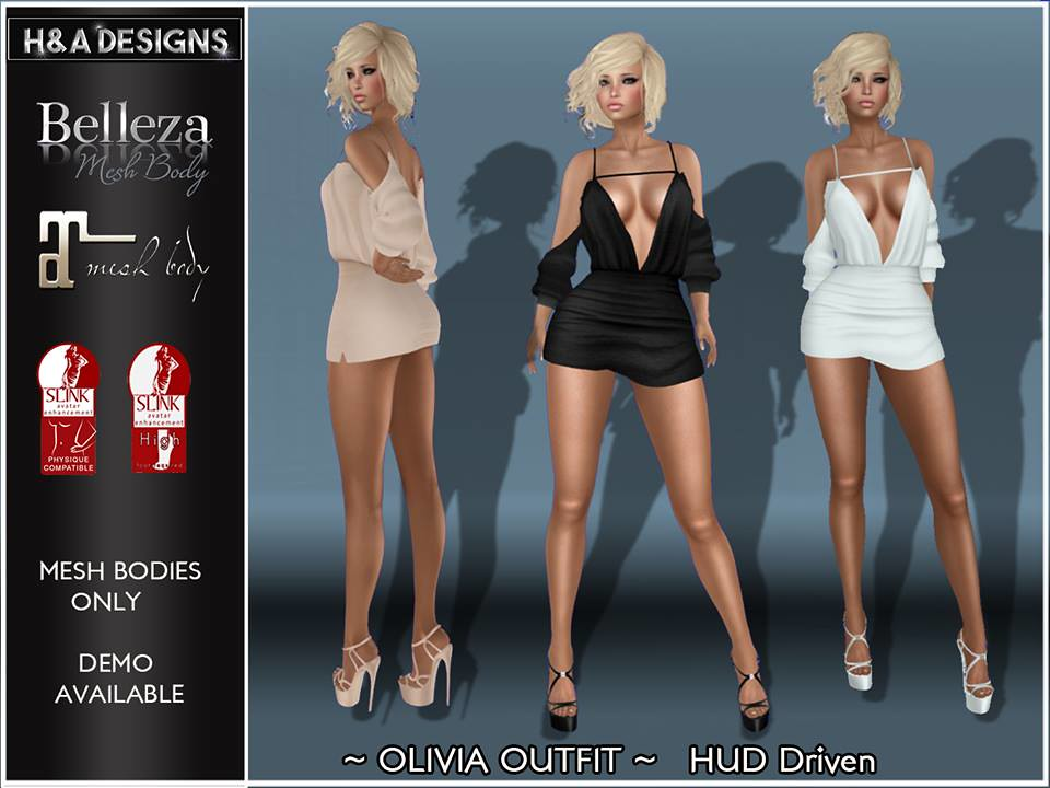 H&A Designs Olivia Outfit - SecondLifeHub.com