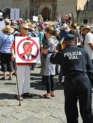 Resist Trump Women's March Oaxaca
